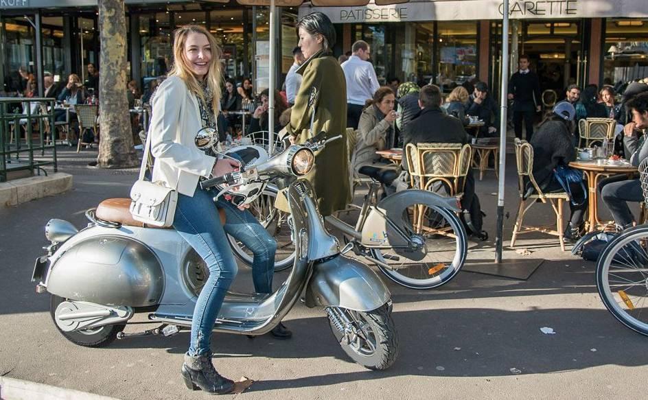 scooter rétro